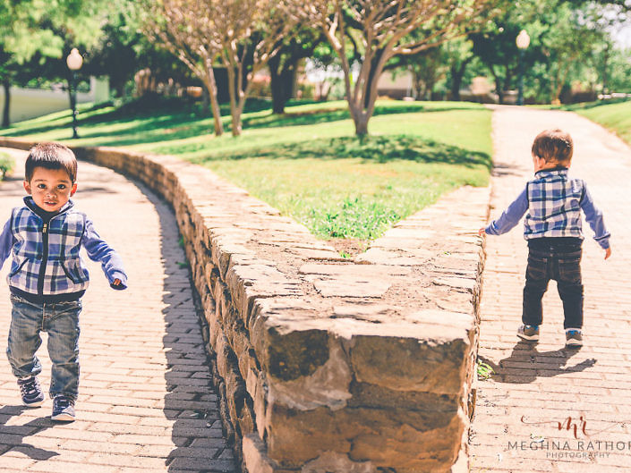Twin Boys Kid Professional Outdoor Photoshoot - Gurgaon Delhi