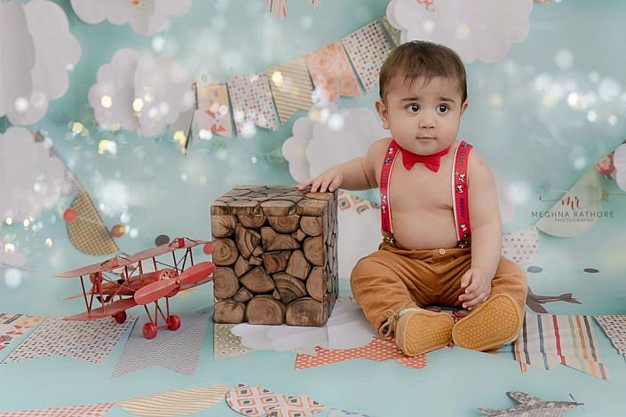 Meghna Rathore Photography, cute baby, baby posing