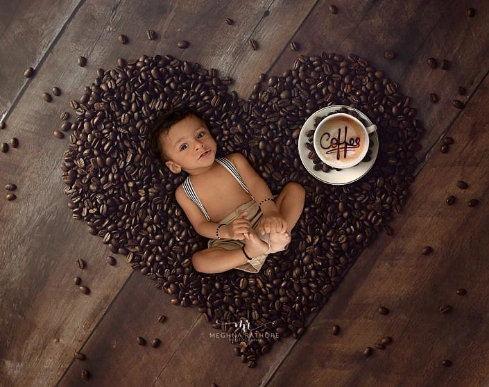 Meghna Rathore Photography, beans backdrop, kids photographer