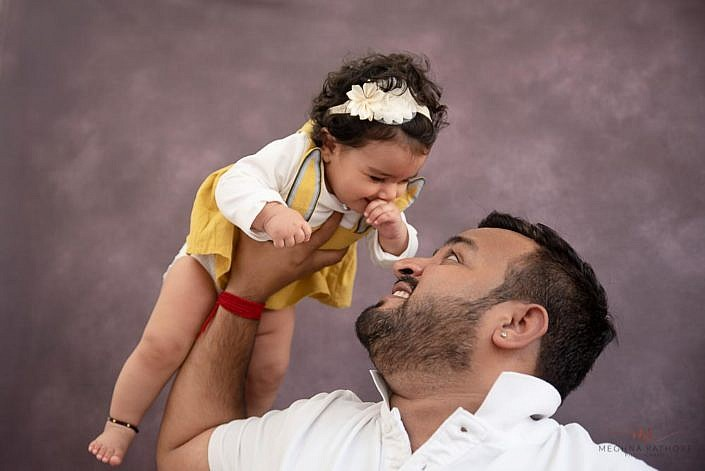 Meghna Rathore Photography, dad and baby