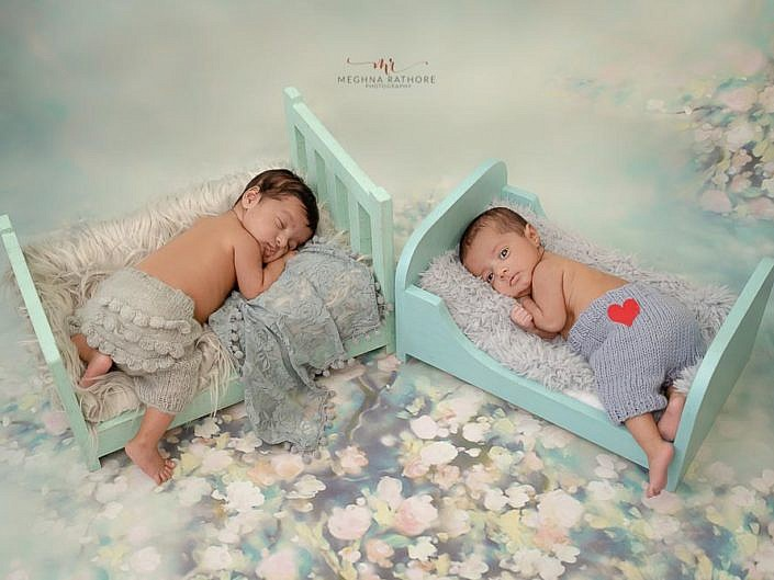 Newborn Baby Photo Session Props Setup Album 2