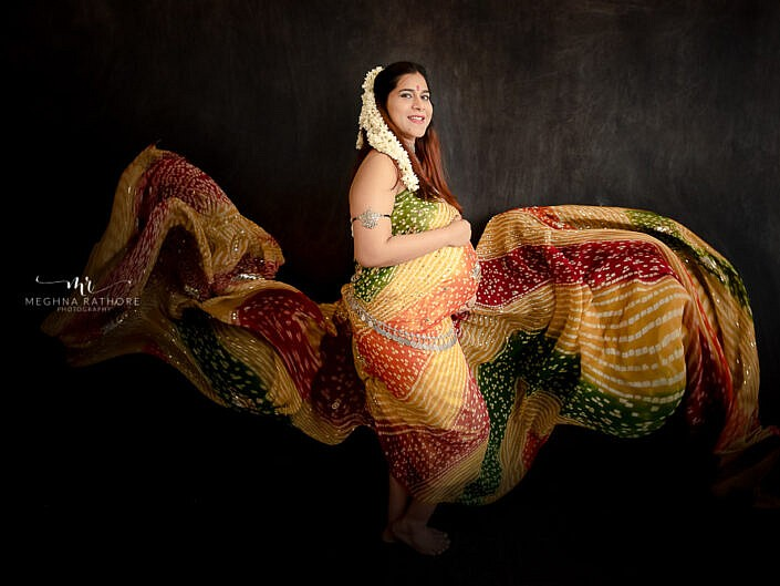 Maternity Album 12 - Indoor Studio Professional Maternity Photo Session - Delhi Gurgaon Noida