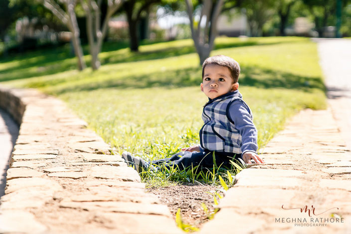 boy kid giving pose during a outdoor photo shoot