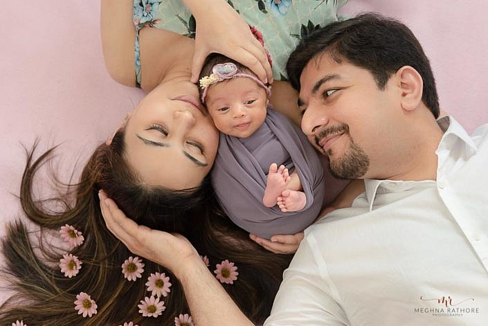 Meghna Rathore Photography, family images, newborn photographer