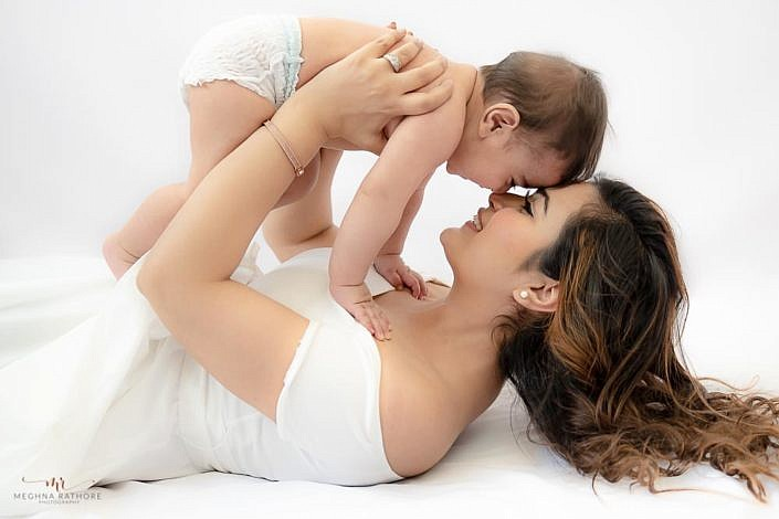 Meghna Rathore Photography, mon and son, mothers love, kids photographer
