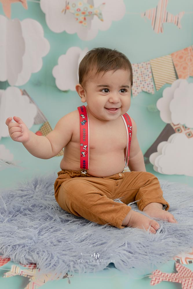 Meghna Rathore Photography, cute baby, baby smiling