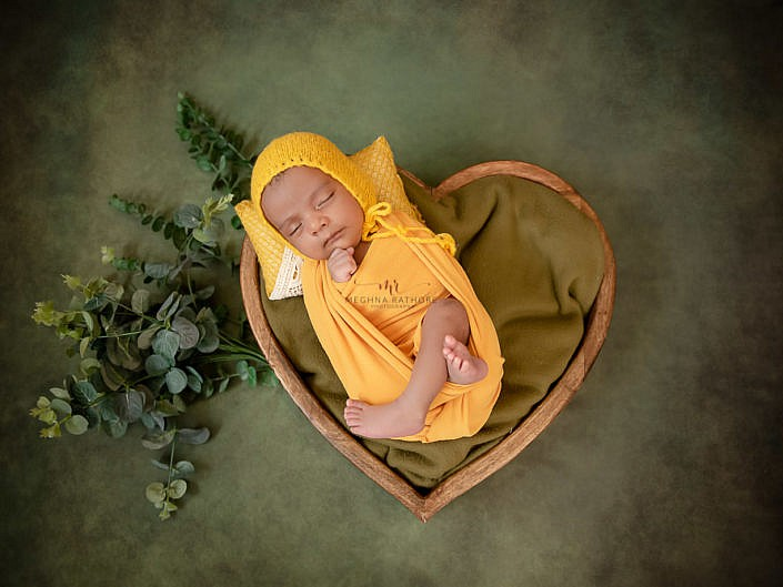 Newborn Album 36 - 28 Days Old Newborn Boy Professional Photo Shoot Delhi