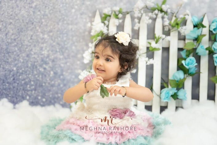 1 year old girl professional photoshoot at meghna rathore photography in delhi gurgaon