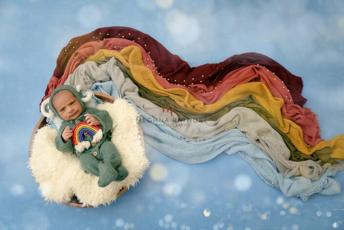 21 days old newborn baby boy photoshoot props meghna rathore photography in delhi and gurgaon