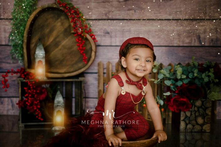 1 year old boy theme based professional photoshoot at meghna rathore photography in delhi and gurgaon